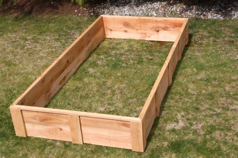 cedar raised bed 4 x 8 cedar raised bed garden boxes usa made grow your