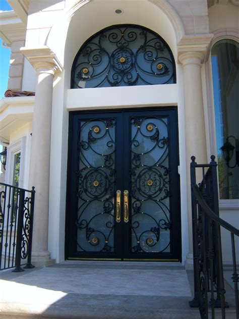 Why People Choose Wrought Iron Doors For Their Home Iron Front Doors For Homes