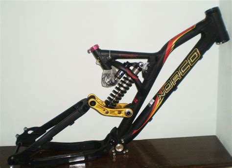 Helm Sepedah Bmx serb sepeda frame norco atomik with rear shock fox dhx 3