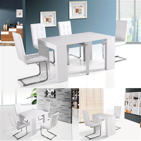 home goods dining table home goods white heavy duty small mdf wooden dining room
