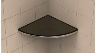 dusch eckregal shower corner shelf glass decorating home ideas the