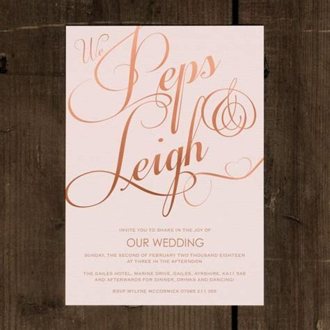 Elegant Classic   Wedding Invitation Set On Luxury Card