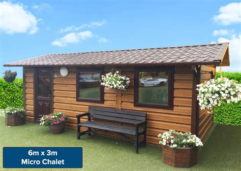 Chalet Sheds by Garden Chalets Bedroom Chalets Garden Rooms Garden