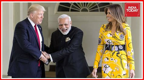 donald trump visit to india modi invites trump to visit india youtube