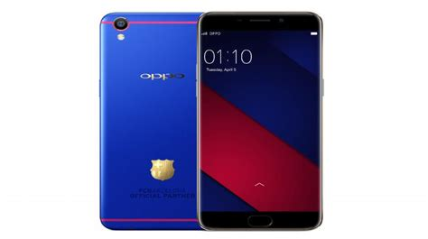Pelindung Hp Oppo oppo launches fc barcelona edition f1 plus