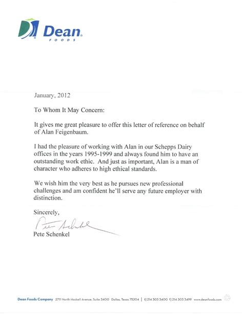 Letter Of Recommendation For College From An Employer Recommendation Letter From Employer Custom College Papers