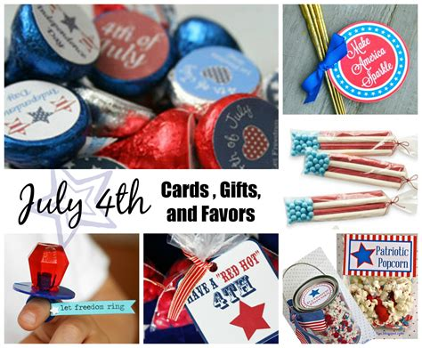 july 4th independence day card gift and favor - Fourth Day Of Gift