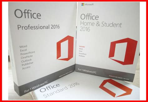 Microsoft Office Professional Original 100 original microsoft office 2016 professional retail plus windows product key sticker label