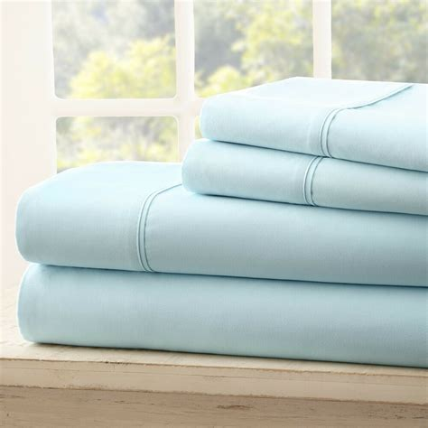 soft bedding essentials luxury  piece bed sheet set  colors ebay