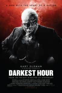 darkest hour unveils a new poster with gary oldman as churchill