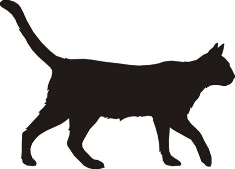 cartoon-cat-silhouette-1.jpg (740×534) | Tattoo I Promised ... Free Clipart Of Siamese Cats
