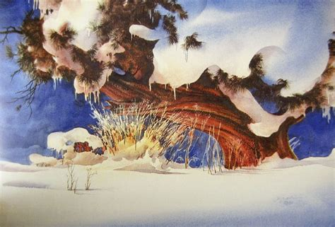 tony couch paintings for sale zoltan szabo watercolor watercolor snowscape
