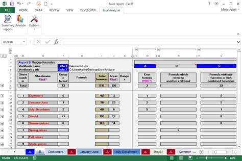 Spreadsheet Errors by Excelanalyzer Reliable Time Saving Software To Manage