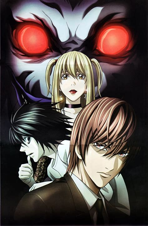 anime death note anime red eyes death note series l character light yagami