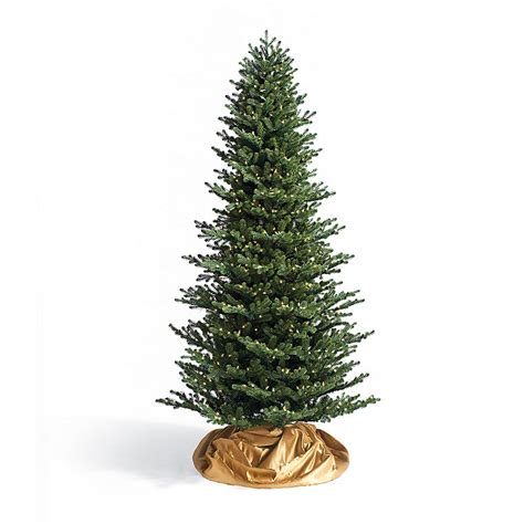 rosewood pine slim artificial christmas tree with