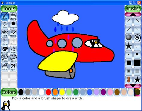 kids online paint and draw activity kids software tux paint download