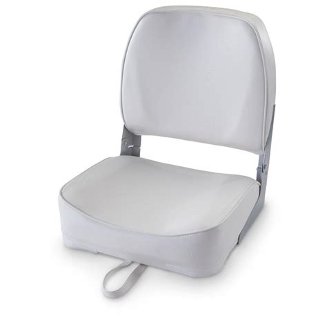 attwood 174 folding boat seat 582055 fold down seats at - Attwood Boat Chairs