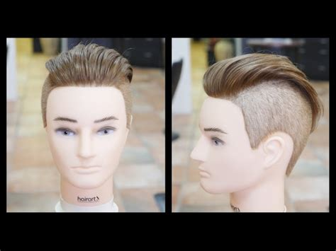 mens haircuts step by step men s undercut haircut step by step tutorial thesalonguy