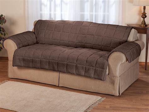 waterproof quilted sherpa sofa cover by oakridgetm ebay