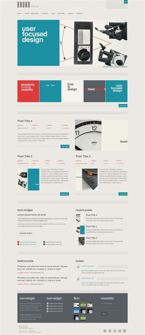 web design layout types 18 best images about super awesome websites on pinterest