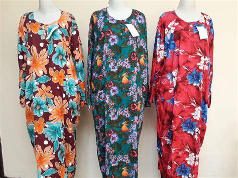 Grosir Murah Baju Jumbo Deswita Dress Jersey sentra grosir daster longdress jumbo dewasa murah bandung 33ribu bandungbajumurah