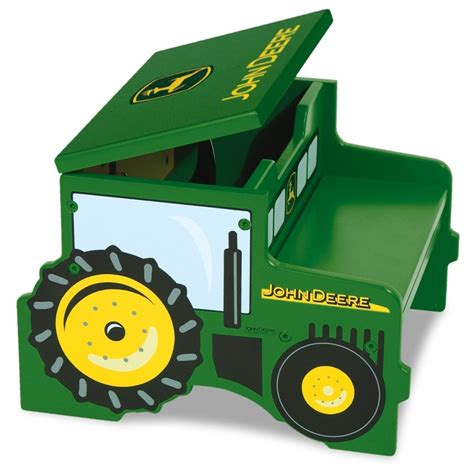 john deere toy box bench tractor step storage kids rooms pinterest furniture