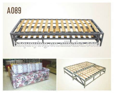 sofa bed with slat base retractable adjustable sofabed frame mechanism buy bed