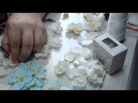apliques para tocados flores peque 241 as para coronas y apliques en tocado de novia