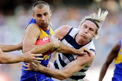 haircut geelong sunday cats left bloodied after optus stadium fence hits afl com au