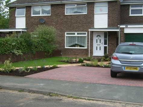 why my car is in the front yard front garden design with parking design ideas