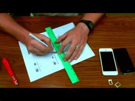 how to cut sim card to fit iphone 5 template how to cut micro sim card to fit a nano sim card size for