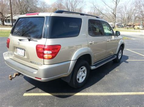 2002 Toyota Sequoia Problems Purchase Used 2002 Toyota Sequoia Sr5 4x4 3rd Row In