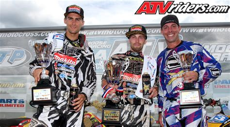 fox valley motocross fox racing shox sweeps pro atv mx podium for 4th time in a