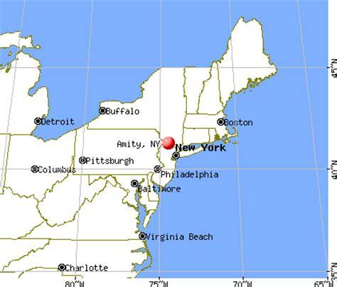 Amity New York Mba by Amity New York Ny 14813 Profile Population Maps Real