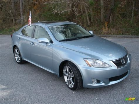 2009 lexus is250 specs breakwater blue metallic 2009 lexus is 250 exterior photo