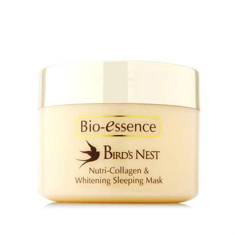pyoho bio essence bird s nest nutri collagen whitening sleeping mask repair hydrating