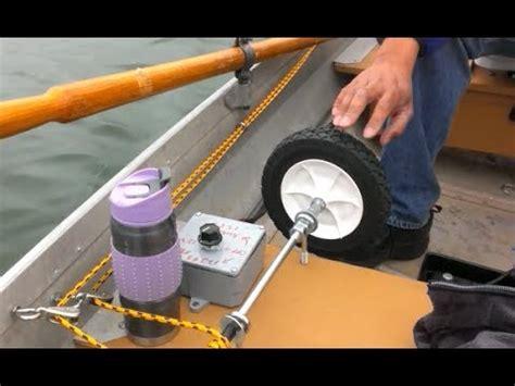 homemade boat steering wheel minn kota endura c40 steering wheel youtube
