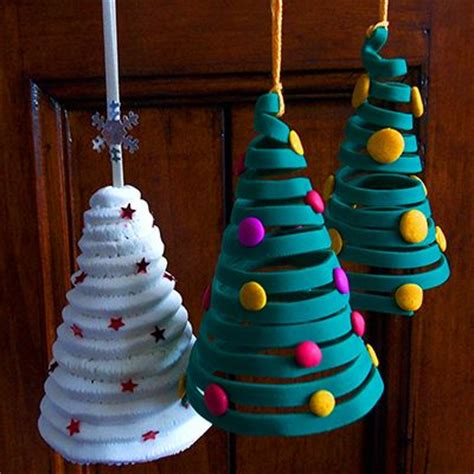 polymer clay christmas tree ornaments made from polymer