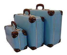 Vintage Luggage Sets Quirky Uses For Vintage Suitcases
