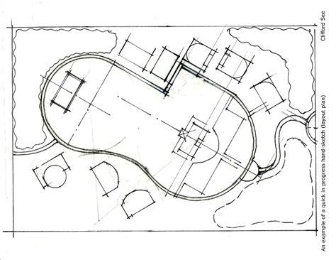 pattern drafting portfolio clifford see landscape architecture portfolio sle