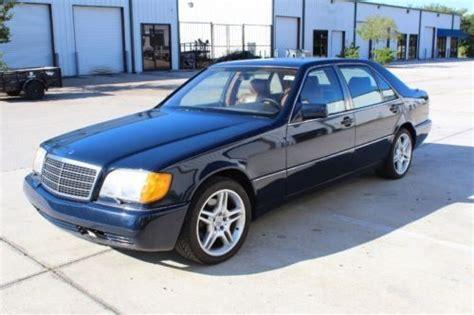 sell used 1993 mercedes benz 400sel base sedan 4 door 4 2l no reserve in jacksonville florida