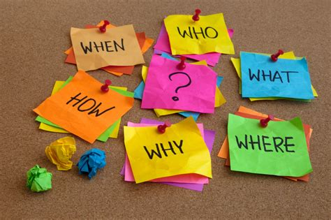 learn how to ask the 5 w s h e questions the manufacture your day by asking open ended questions