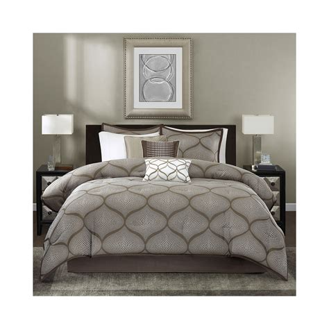 buy madison park alandra 7 pc jacquard comforter set