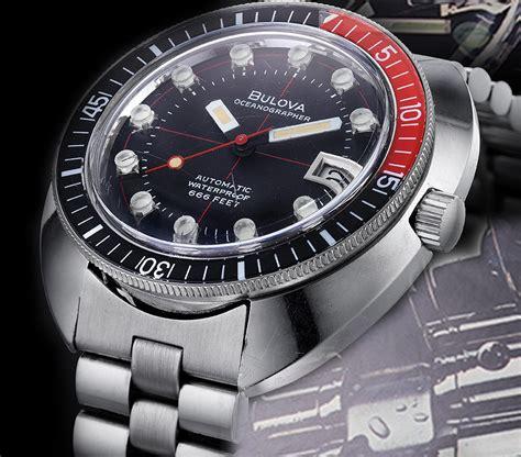 bulova dive bulova 1972 oceanographer diver to be reissued in 2018