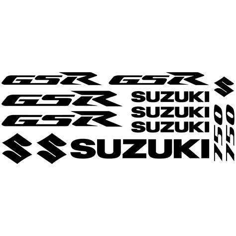 Suzuki Decals Uk Wallstickers Folies Suzuki Gsr 750 Decal Stickers Kit