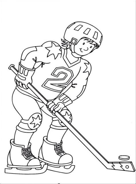 nhl coloring sheets coloring pages
