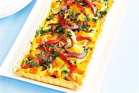 vegetarian shortcrust pastry recipe roast vegetable quiche