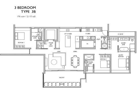 residence floor plan leedon residence
