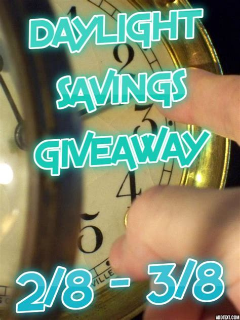 Giveaway Center Sign Up - bloggersopp daylight savings giveaway sign ups end 2 6 michigan saving and more