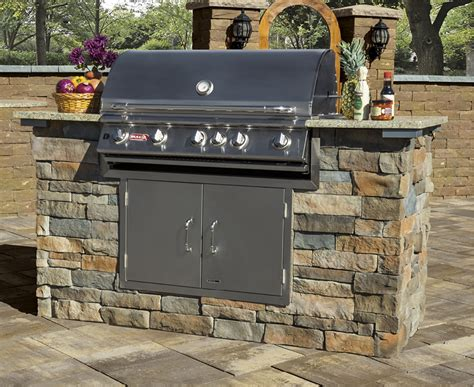Backyard Grill Kits Add Veneer To Your Outdoor Kitchen This Cambridge